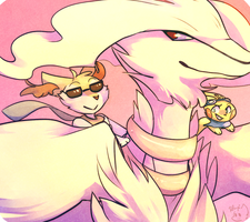 You Can't Handle the Reshiram by honrupi