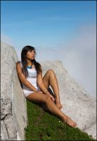 Karma Fayt above the clouds 04 by Skookum-Models