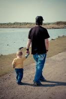 Father and Son by designsbysassy