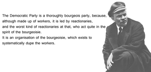 Lenin on democrats by Party9999999