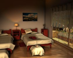 else vision for bedroom 2 by ibrahim-ksa