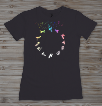 Flying Circle - Shirt by JosephSinger