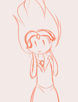 Animation Doodle of Flame Princess by netnavi20x5