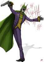 The Joker Batman by MatthewHogben