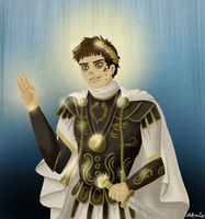 Commodus by Laknea