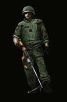 CZ soldier by Artush