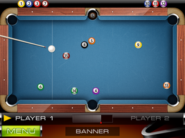 Amazing Pool - game screen by VVVp