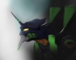 Eva Unit 01 by paledebaser