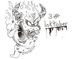 INKTOBER #3 by Doutarina