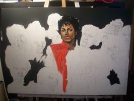 Michael Jackson Thriller by JeremyWorst