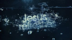 Jesus Refreshes - Wallpaper by mostpato