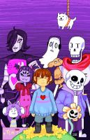 Undertale by AdventureTime-lover