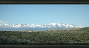 Snowy Nevada Mountains by Jshei