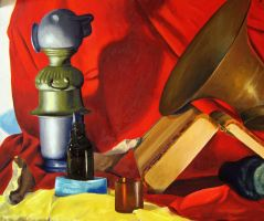 Oil Still Life 02 by Masca-Ridens