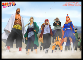 5 Kages by empeethree