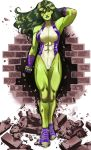 She-Hulk 2 color  by RamArtwork