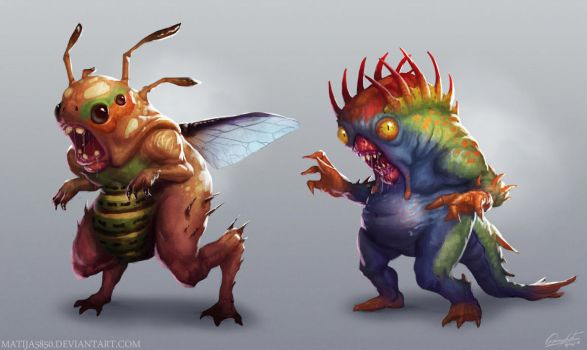 Monsters by Matija5850