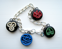 Avatar Nation Emblems Charm Bracelet by ShinyCation