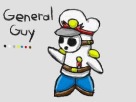 General Guy Reference Sheet by SurgeCraft