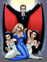 Groupies Of Dracula by curtsibling