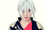 Seven -Final Fantasy type-0- by FreakySpikyHead