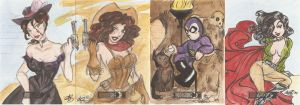 Moonstone cards by AmberStoneArt