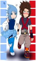 .:KH:BBS:.:Terra and Aqua:. by KickBass77