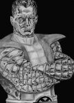 Colossus from the X-Men by MrFixit741