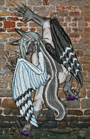 Artidemic- Silver Jackal by caishide