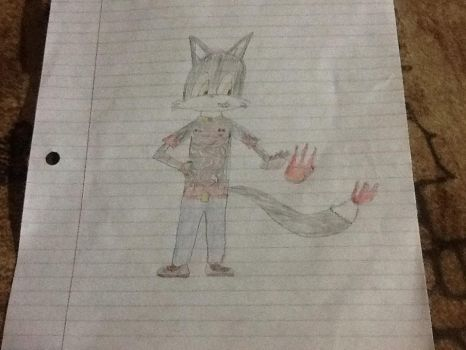 First drawing ever! by keyblade12345