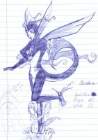 Cerulean the Life Giver by birdscribbles