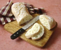 Ciabatta Bread by PetitPlat