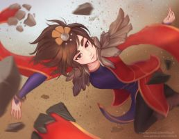 The Little Sparrow - Taliyah by Eliskalti