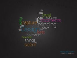 Design Is.. Typography 4 by fiyah-gfx