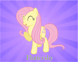Fluttershy. by Acuario1602