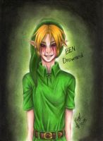 BEN Drowned by takanithehedgehog