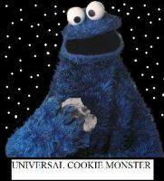 Universal Cookie Monster by eegcmnaes