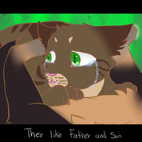 Their like father and son by AgenderedKing