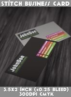 Stich Business Card by CaCaDoo