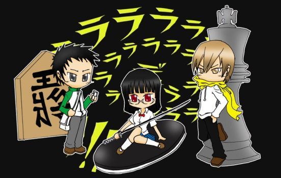 Durarara 3 King by ahmadpjal