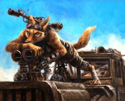Furry Road by kenket
