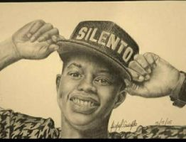 Drawing Silento by abimaelguira2
