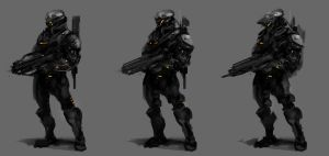 Soldier Concepts by KM33