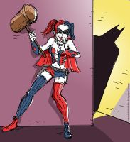 New 52 Harley Quinn by TheCosmicBeholder