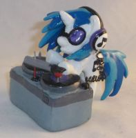Custom Blindbag DJ P0N-3 and Turntable by Gryphyn-Bloodheart