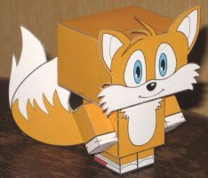 Tails Cubee by paperart