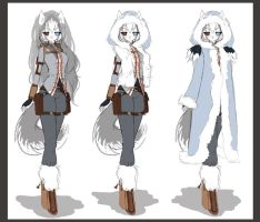 Suki outfit design-winter by LittleRueKitty