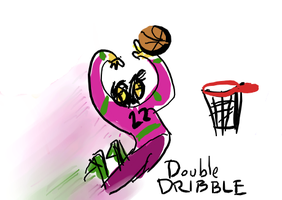 Double Dribble by ozwalled
