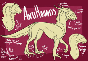 AntiHounds [Species Sheet- OPEN SPECIES] by wyomingcrazy101