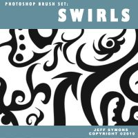 Photoshop Brush Swirls by PulsarGraphics